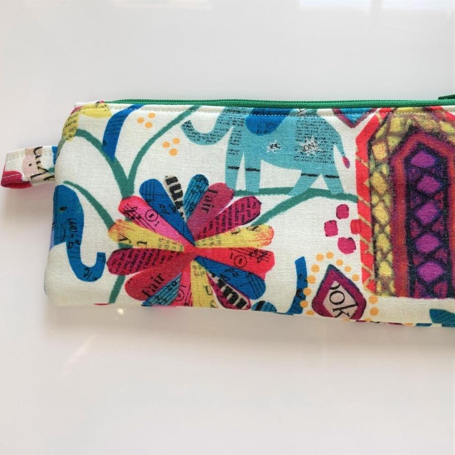 elephant slim pouch pencil case